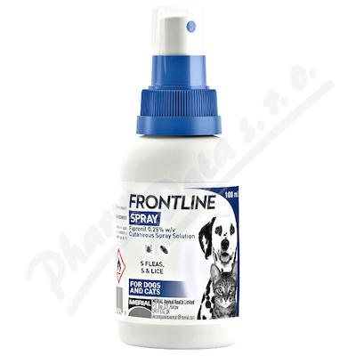 Frontline spray 2.5mg/ml kožní sprej roztok 100ml