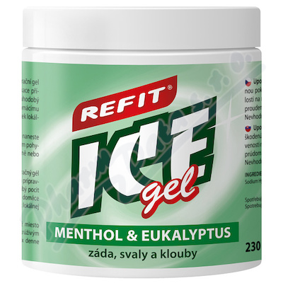 Refit Ice gel Menthol&Eukalyptus 230ml