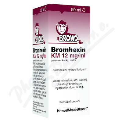 Bromhexin 12 KM-kapky por.gtt.sol.50ml