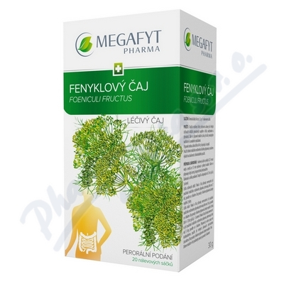 Megafyt Fenyklový čaj por.spc.20x1.5gm
