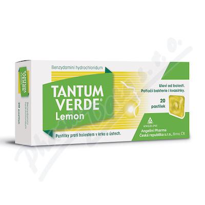 Tantum Verde Lemon 3mg pas.20