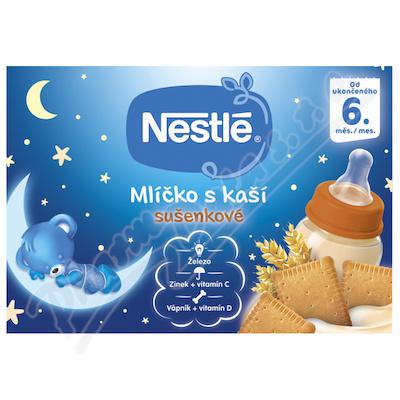 NESTLÉ Mlíčko s kaší sušenkové 2x200ml