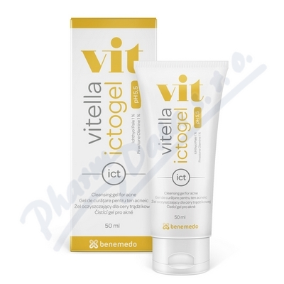 Vitella Ictogel čistící gel proti akné 50 ml