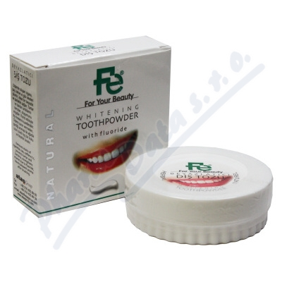 FE Bělící zubní pudr herbal 50g