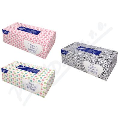 Papírové kapes. LINTEO 2-vrstvé bílé 200 ks