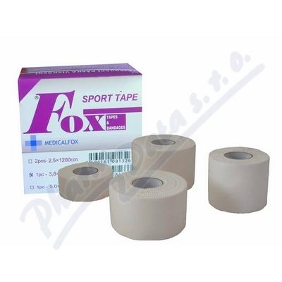 FOX SPORT TAPE tejpovací páska visk.2.5cmx12m 2ks