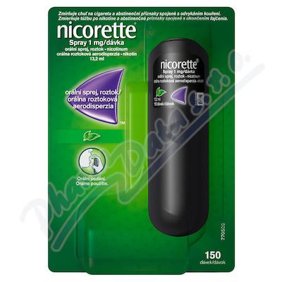 Nicorette spray 1mg/dávka orm.spr.1x13.2ml/150mg