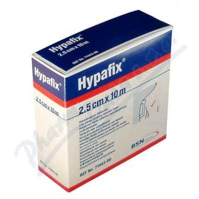 Hypafix 2.5cmx10m náplast z netk.text.bez polštář.