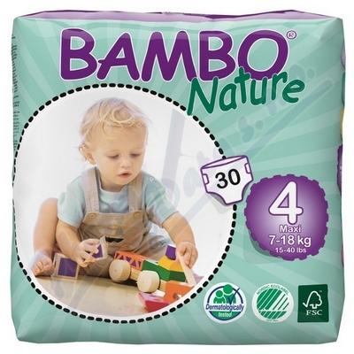 BAMBO Nature Maxi plen.k. 7-18kg 30ks