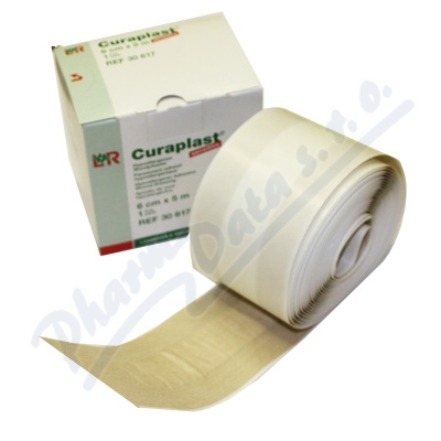 Náplast Curaplast rychloobvaz role 6cm x 5m1ks