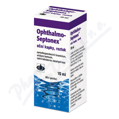 Ophthalmo-septonex oph.gtt.sol.1x10ml plast