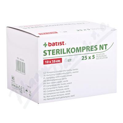 Sterilkompres NT 10x10cm/4 vrstvy 25x5ks