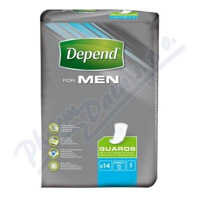 Depend inkontinenční kapsy pro muže vel.2 14ks