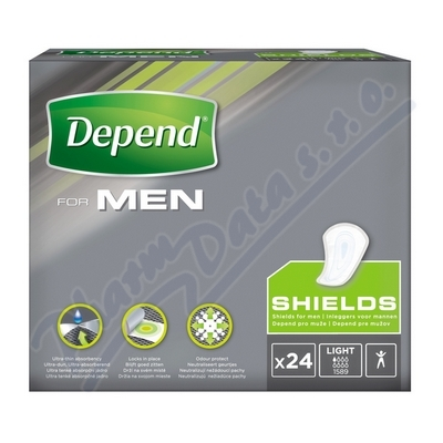 Depend inkontinenční kapsy pro muže vel.1 24ks