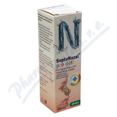 Septanazal děti 0.5mg/50mg v 1ml nas.spr.so.1x10ml