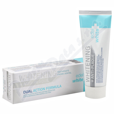 EDEL+WHITE Zubní pasta Whitening Anti-Plague 75ml