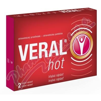 Herbacos VERAL HOT hřejivá náplast 2ks