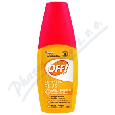 OFF! Protection Plus rozprašovač 100ml