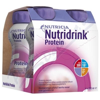 Nutridrink Protein s př.les.ov.por.sol.4x200ml Nov