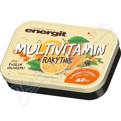 Energit Multivitamin + rakytník tbl.42