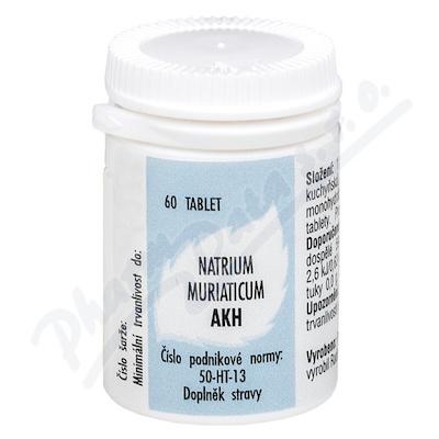 Natrium muriaticum AKH por.tbl.60