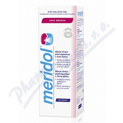 MERIDOL Safe breath ústní voda 400ml