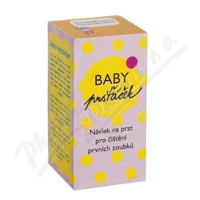 Profimed Baby Prsťáček průhled. zub.kartáček INF05