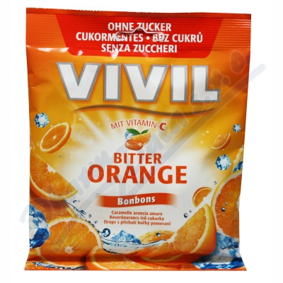 Vivil Hořký pomeranč+vit.C bez cukru 80g