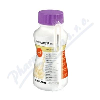 Nutricomp Drink Plus Vanilka por.sol.4x200ml