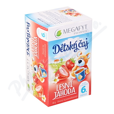 Megafyt Dětský čaj lesní jahoda 20x2g