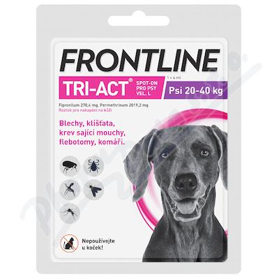 Frontline Tri-Act psi 20-40kg spot-on pipeta 1x4ml