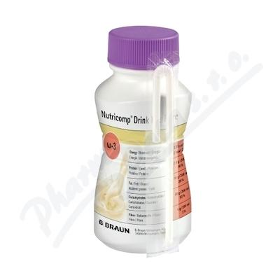 Nutricomp Drink Plus Fibre Káva por.sol.4x200ml