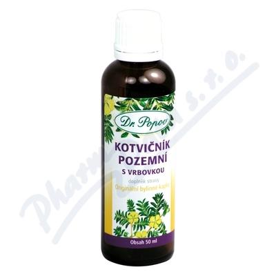 Dr.Popov Kapky bylinné Kotvičník s vrbovkou 50ml
