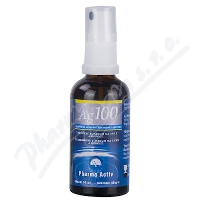 Koloidní stříbro Ag100 40ppm spray 50ml