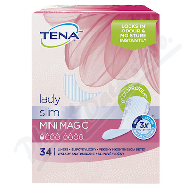 TENA Lady Mini Magic ink.vložky 34ks 761052