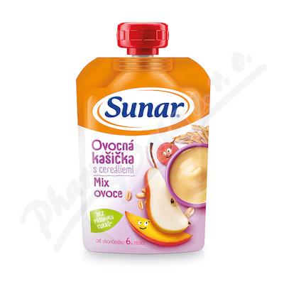 Sunar ovocná kašička Mix ovoce 120g
