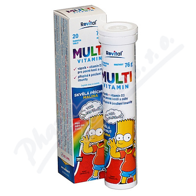 The Simpsons Multivitamin 20 eff. tablet