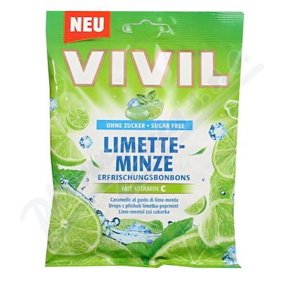Vivil Limetka-mentol+vit.C bez cukru 80g