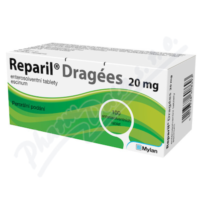 Reparil-Dragées 20mg tbl.ent.100