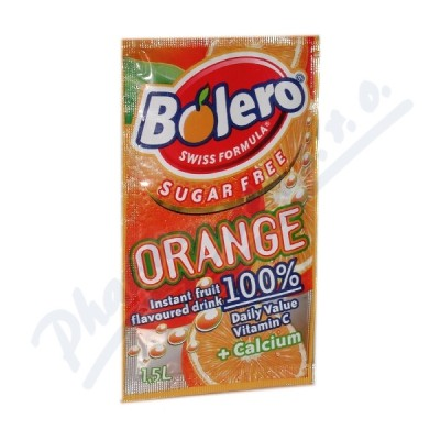 BOLERO Orange inst.nápoj bez cukru 8g