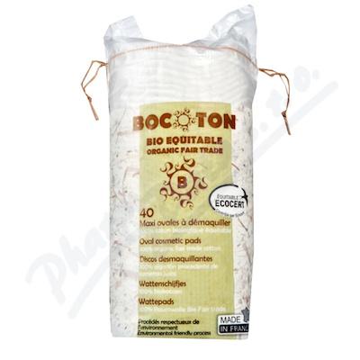 Bocoton Bio Maxi 40 ovál.tamponů -velmi jemné čiš.