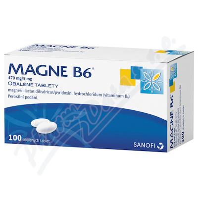 Magne B6 470mg/5mg tbl.obd.100