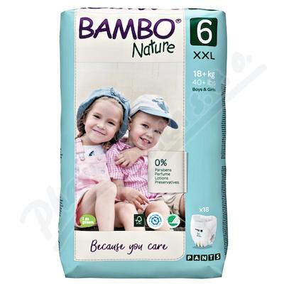 Bambo Nature Pants 6 navl.pl.k.trenink. 18+kg 18ks