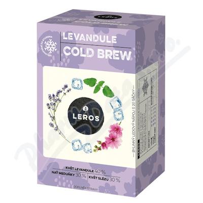 LEROS Cold brew levandule&meduňka n.s.20x1g