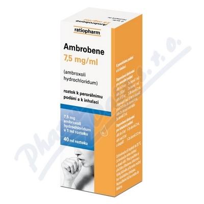 Ambrobene sol.40ml 7.5mg/ml
