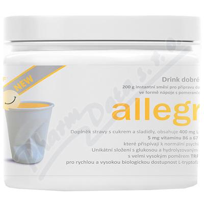 allegra DRINK NEW instantní směs pomeranč 200g