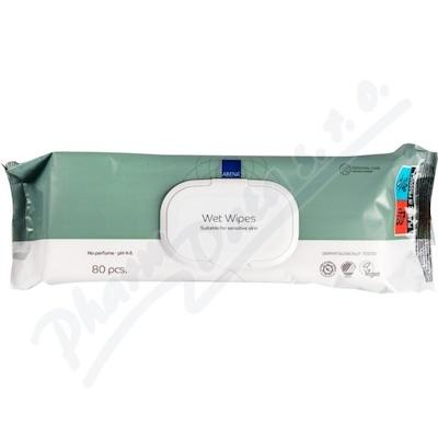 ABENA Skincare - vlhké čistící ubrousky 80ks