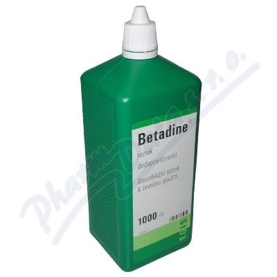Betadine liq.1x1000ml (H) zelený