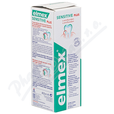 Elmex Sensitive Plus ústní voda 400ml