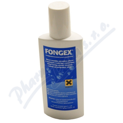 Fongex protiplísňový prací prostředek 200ml